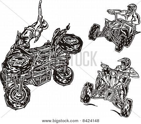 ATV Riders.