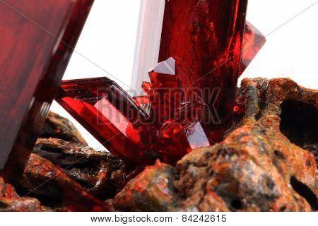 K3 [fe (cn)6] Potassium-ferricyan Ide Crystal
