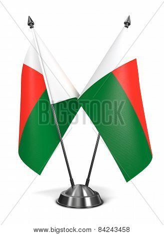 Madagascar - Miniature Flags.