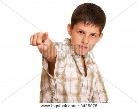 Agressive Boy