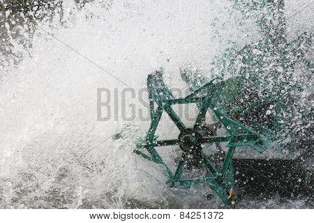 Splash Of Water Turbines.