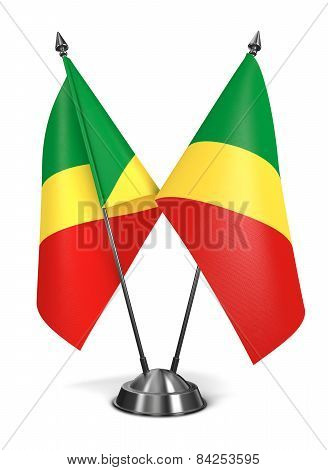 Republic Congo - Miniature Flags.
