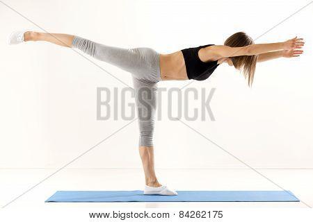 Girl Exercise Yoga