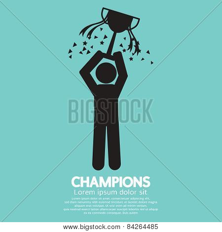 Champions Graphic Sign.