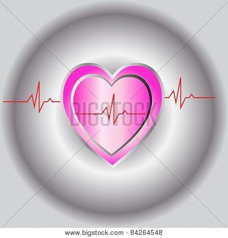Pink Heart Beat