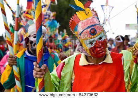 Inti Raymi celebation in Chimborazo province, Ecuador