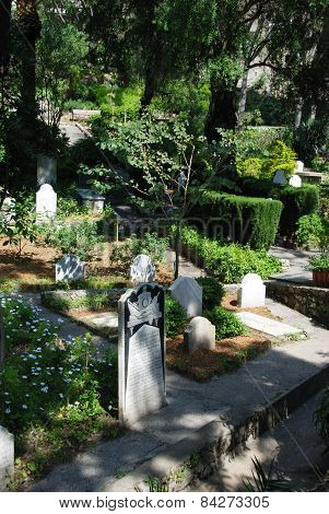 Trafalgar cemetery, Gibraltar.