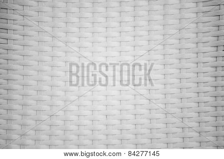 dirty white rattan background and texture.