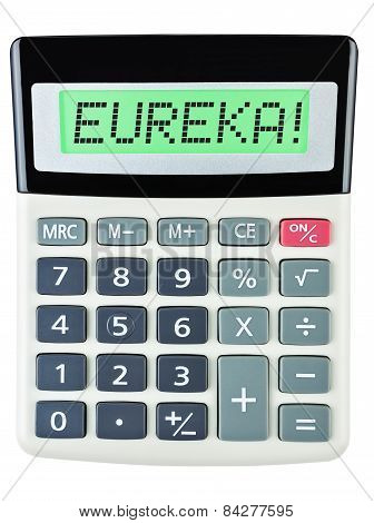Calculator With Eureka