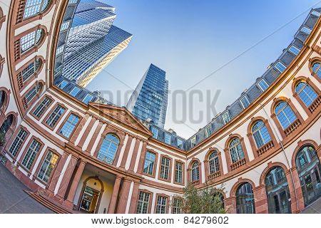 Palaisquartier In Frankfurt