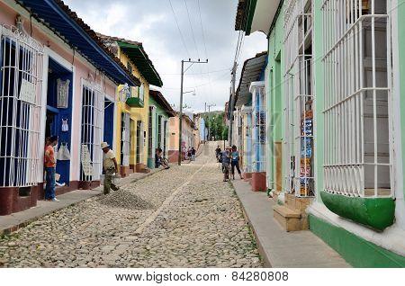TRINIDAD, CUBA - MAY 3, 2014.