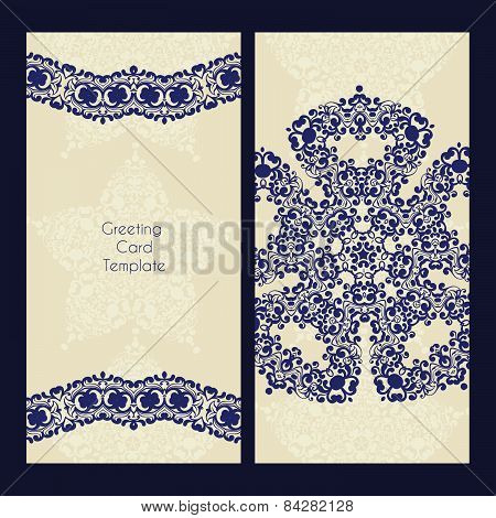 Victorian Lace Card