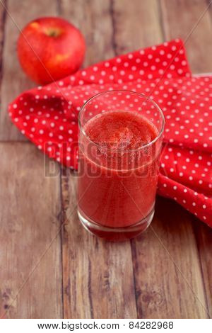 Beetroot apple papaya juice
