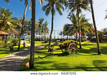 Seaside resort on the beaches of Phan Thiet