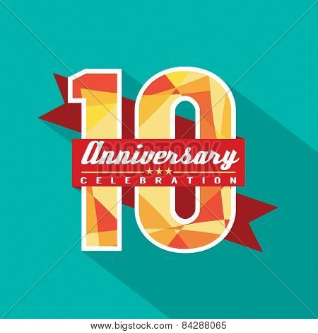 10 Years Anniversary Celebration Design