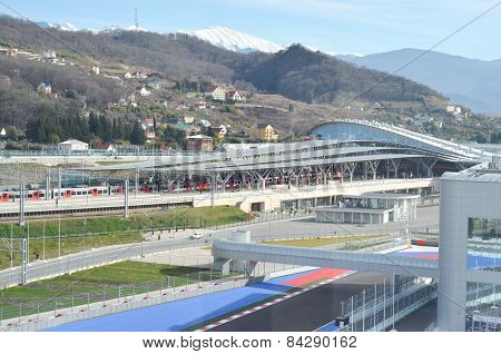 Olympic Park railway station, Sochi