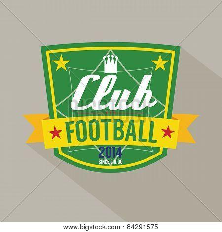 Soccer Or Football Badge.