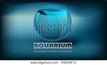 Aquarium And Slogan