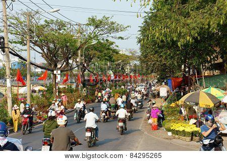 Spring Flower, Vietnam Tet, Ho Chi Minh City