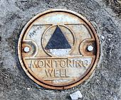 picture of groundwater  - Environmental Monitoring Well in City Riverside Park - JPG