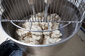 picture of food processor  - Food processor to kneading dough for bread - JPG