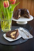 picture of lice  - Chocolate Sponge Cake with cream cheese filling - JPG