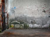 picture of basement  - Old empty basement grungy or urban blank place  - JPG