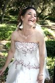 A happy bride poster