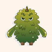 pic of monsters  - Monster Cartoon Theme Elements Vecotr - JPG