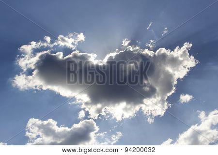 clouds blocking the sun