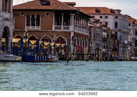 Beautiful view of Venice