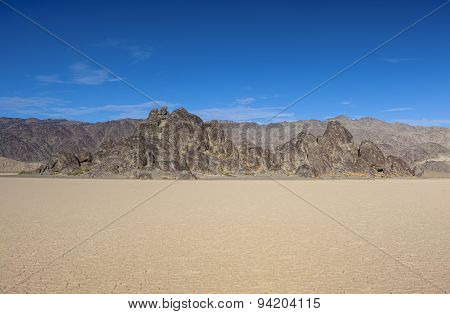 Racetrack Playa In Death Valley National Park, California, Usa