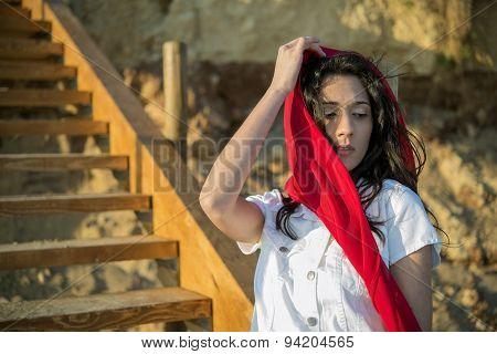 Mediterranean Young Girl