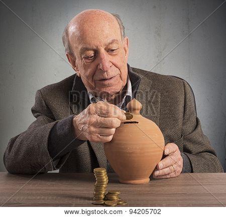 Pension and savings