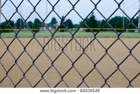 Chain Link Fence Baseball