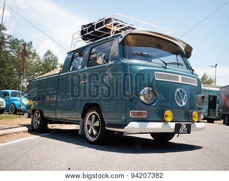 Hippie Volkswagen Kombi