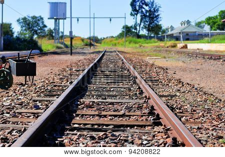 Cullinan Diamond Mine Railroad Tracks - South Africa
