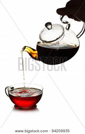 Tea Pouring Concept