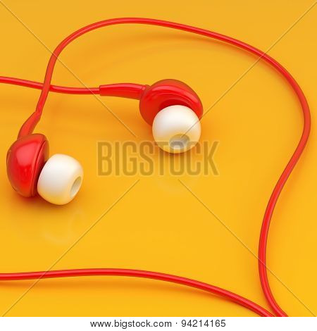 In-ear headphones composition
