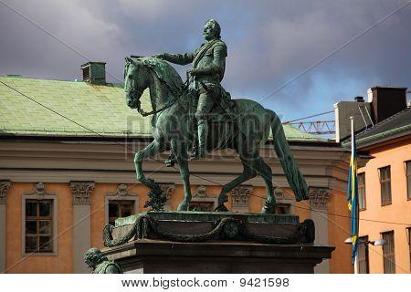 Swedish King Gustav II Adolf