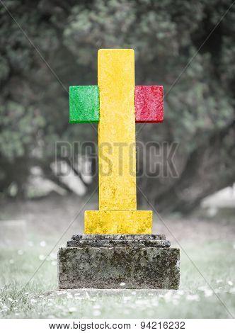 Gravestone In The Cemetery - Mali