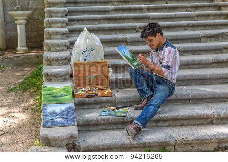 Painter Tehran
