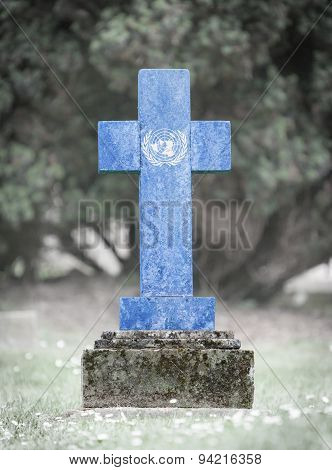 Gravestone In The Cemetery - United Nations