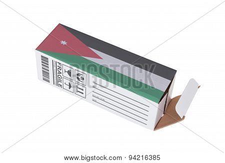Concept Of Export - Product Of Jordan
