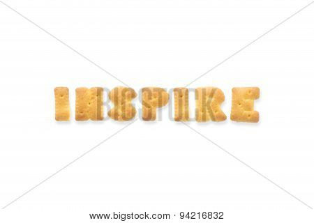 The Letter Word Inspire Alphabet  Cookie Cracker