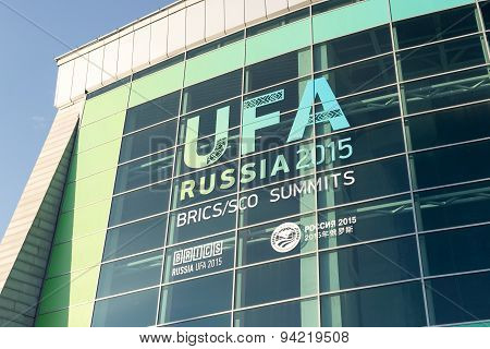 The Congress Hall In Ufa Russia