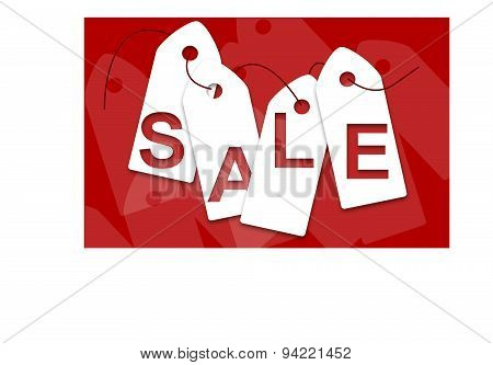 White Sale Cards