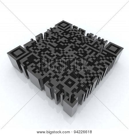 Big Barcode Qr 3D
