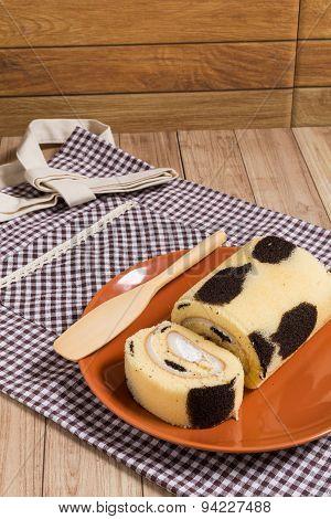 Cake Roll : Fresh Milk Cream