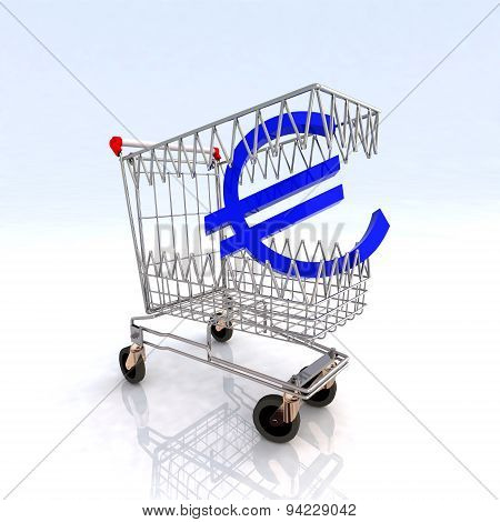 Shopping Cart That Bites